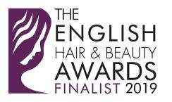 Logo of the English Hair and Beauty Awards 2019