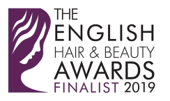 Logo of the English Hair and Beauty Awards 2019